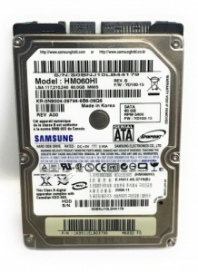 60GB LAPTOP HDD Dell N9004 0N9004 Samsung HM060HI 2.5 SATA HARD DISK DRIVE