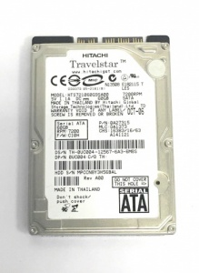 60GB LAPTOP HDD Dell UC004 Hitachi HTS721060G9SA00 2.5 SATA HARD DISK DRIVE