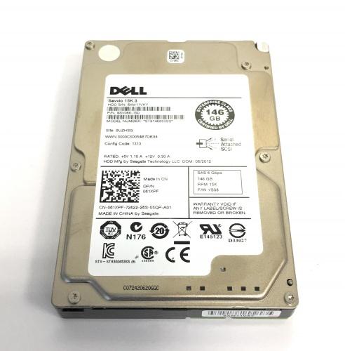 Seagate//Dell 0XX518 146GB 15k SAS Hard Drive ST3146356SS XX518  W//TRAY